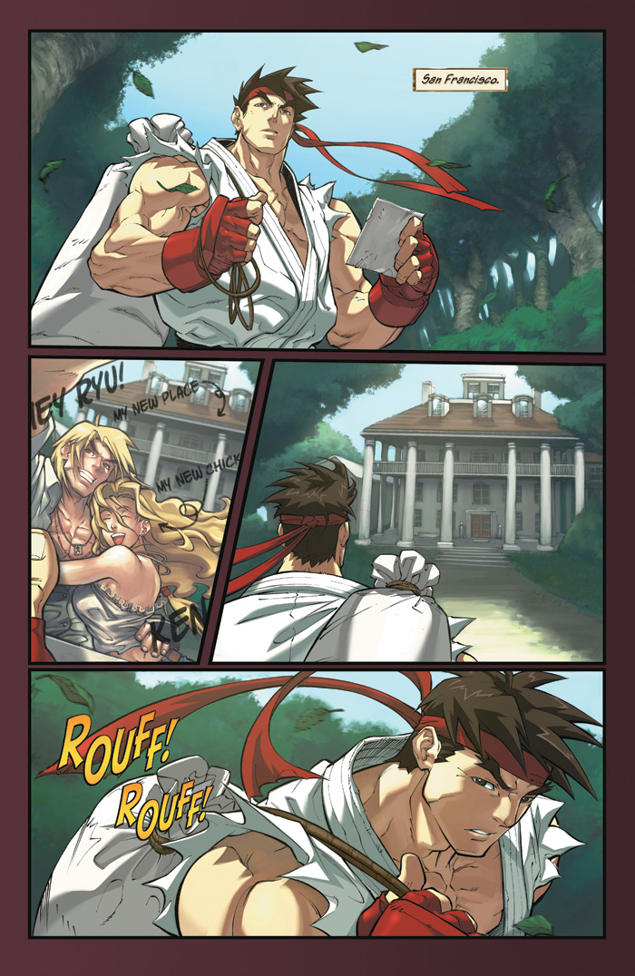 Read online Street Fighter Origins: Akuma comic - Issue # Full